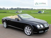 USED 2009 BENTLEY CONTINENTAL 6.0 GTC 2d AUTO 552 BHP