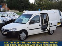 2009 VAUXHALL COMBO 2000 1.3 CDTi Direct From BT With History £3195.00