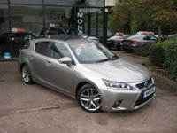 2015 LEXUS CT 1.8 200H ADVANCE PLUS 5d AUTO 134 BHP £13490.00