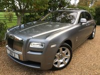 2012 ROLLS-ROYCE GHOST 6.6 V12 4d AUTO 564 BHP £97995.00