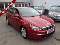 USED 2014 14 PEUGEOT 308 1.6 HDI ACTIVE 5d 92 BHP Retail price £8995,with £500 minimum part exchange allowance,balance price £8495.