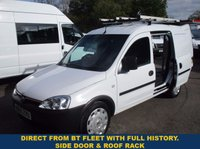 2009 VAUXHALL COMBO 2000 1.3 CDTi Direct From BT With History £2745.00