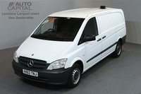 USED 2013 63 MERCEDES-BENZ VITO 2.1 113 CDI 5d 136 BHP LWB RWD CRUISE CONTROL ELECTRIC WINDOWS ONE OWNER FROM NEW