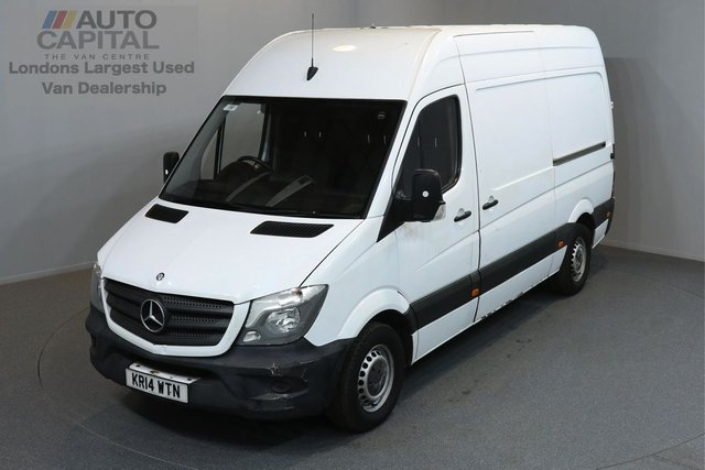 2014 14 MERCEDES-BENZ SPRINTER 2.1 313 CDI MWB 5d 129 BHP H/ROOF RWD CRUISE CONTROL BLUETOOTH ONE OWNER FROM NEW