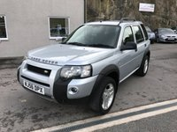 USED 2006 56 LAND ROVER FREELANDER 2.0 TD4 FREESTYLE 5d AUTO 110 BHP FULL SERVICE HISTORY ** ONLY 2 FORMER KEEPERS ** 63K MILES ONLY