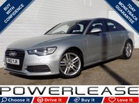 USED 2012 12 AUDI A6 2.0 TDI S LINE 4d 175 BHP BLACK FRIDAY WEEKEND EVENT, FSH REVERSE CAM SATNAV B/TOOTH