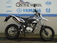 USED 2016 66 YAMAHA WR 125 X WHITE/BLACK **HPI CLEAR** **VERY LOW MILES**