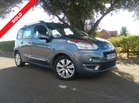 2010 CITROEN C3 PICASSO 1.6 PICASSO EXCLUSIVE HDI 5d 90 BHP £5295.00