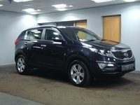 USED 2010 60 KIA SPORTAGE 1.6 2 5d 133 BHP FULL SIZE PANORAMIC ROOF