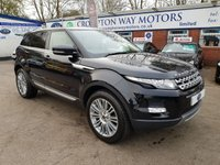 USED 2011 61 LAND ROVER RANGE ROVER EVOQUE 2.2 SD4 PRESTIGE LUX 5d AUTO 190 BHP 0% AVAILABLE ON THIS CAR PLEASE CALL 01204 317705