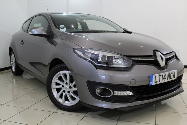 View our 2014 14 RENAULT MEGANE 1.5 DYNAMIQUE TOMTOM ENERGY DCI S/S 3DR 110 BHP