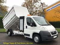 USED 2011 60 CITROEN RELAY 2.2 35 L3 HDI LWB Refuge-Tipper Pod Tool box, A/C Free UK Delivery