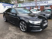 USED 2014 63 AUDI A6 3.0 TDI QUATTRO S LINE BLACK EDITION 4d AUTO 245 BHP 0% AVAILABLE ON THIS CAR PLEASE CALL 01204 317705