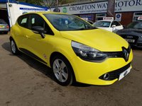USED 2014 64 RENAULT CLIO 1.5 EXPRESSION PLUS ENERGY DCI S/S 5d 90 BHP 0% FINANCE AVAILABLE ON THIS CAR PLEASE CALL 01204 317705