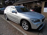 USED 2010 60 BMW X1 2.0 XDRIVE20D SE 5d AUTO 174 BHP FULL SERVICE HISTORY, 2 KEYS, 2 OWNERS, SAT-NAV, LEATHER SEATS