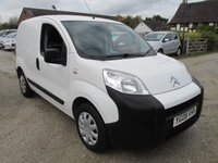 2008 CITROEN NEMO 1.4 610 X HDI SIDE DOOR FSH £3795.00