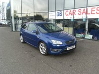 USED 2005 55 FORD FOCUS 2.5 ST-2 3d 225 BHP FREE 12 MONTHS RAC WARRANTY AND FREE 12 MONTHS RAC BREAKDOWN COVER