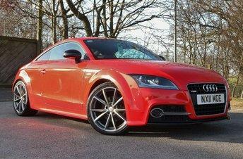 2011 AUDI TT 2.0 TDI QUATTRO S LINE BLACK EDITION 2d 168 BHP £8650.00