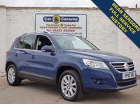 USED 2010 10 VOLKSWAGEN TIGUAN 2.0 SE TDI 4MOTION 5d 138 BHP Full Service History Air Con 0% Deposit Finance Available