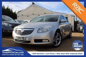 2011 VAUXHALL INSIGNIA 1.8 SRI 5d 138 BHP £4500.00