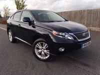 2010 LEXUS RX 3.5 450H SE-L 5d AUTO 249 BHP £12995.00