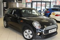 USED 2014 64 MINI HATCH COOPER 1.5 COOPER D 3d 114 BHP FULL MINI SERVICE HISTORY + 15 INCH HELI SPOKE ALLOYS + BLUETOOTH + DAB RADIO + AIR CONDITIONING + ELECTRIC WINDOWS