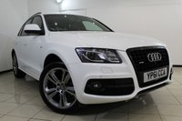 USED 2011 61 AUDI Q5 2.0 TFSI QUATTRO S LINE SPECIAL EDITION 5DR 208 BHP FULL AUDI SERVICE HISTORY + HEATED LEATHER SEATS + SAT NAVIGATION + PARKING SENSOR + BLUETOOTH + CRUISE CONTROL + MULTI FUNCTION WHEEL + 20 INCH ALLOY WHEELS