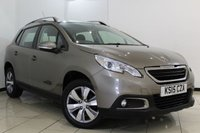 USED 2015 15 PEUGEOT 2008 1.6 E-HDI ACTIVE FAP 5DR 92 BHP AIR CONDITIONING + 0% FINANCE AVAILABLE T&C'S APPLY + BLUETOOTH + CRUISE CONTROL + MULTI FUNCTION WHEEL + 16 INCH ALLOY WHEELS