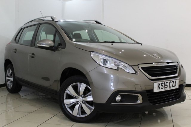 View our 2015 15 PEUGEOT 2008 1.6 E-HDI ACTIVE FAP 5DR 92 BHP