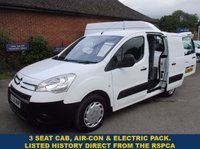 2009 CITROEN BERLINGO 625 LX WITH 3 SEAT CAB & AIR-CON FROM THE RSPCA WITH HISTORY £3695.00