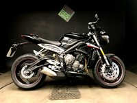 2017 TRIUMPH STREET TRIPLE RS. 17. FSH. 2K. FULLY LOADED RS MODEL, EXTRA BHP ETC ETC £8400.00