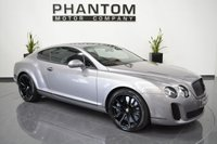 2011 BENTLEY CONTINENTAL 6.0 SUPERSPORTS 2d AUTO 621 BHP £68490.00
