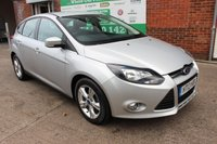 USED 2013 13 FORD FOCUS 1.6 ZETEC TDCI 5d 113 BHP +SAT NAV +LOW Tax Band.