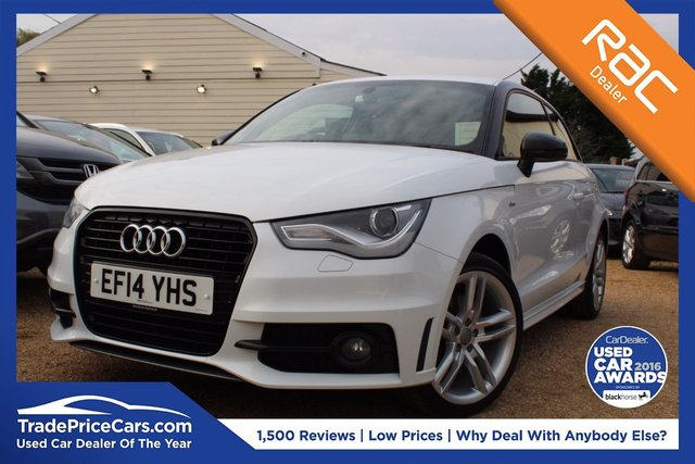 View our 2014 14 AUDI A1 1.4 TFSI S LINE STYLE EDITION 3d 121 BHP