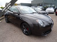 USED 2014 64 ALFA ROMEO MITO 0.9 TWINAIR QV LINE 3d 105 BHP This Alfa has had 1 lady owner from new who has had 2 Alfa dealership services completed and an MOT dated 21st September 2018. Its presented in the Anthracite Grey with sports trim and has the Carbon door pocket interior. It comes with air conditioning, cruise control, park distance control and DNA & QV Line extras.With telephone module, USB doc and cup holders its all ready equipped for your daily commute.