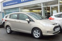USED 2014 64 FORD B-MAX 1.4 ZETEC 5d  .........ONE OWNER. FULL FORD SERVICE HISTORY. AIR COND, ALLOY WHEELS. FRONT/REAR ELECTRIC WINDOWS. HEATED WINDSCREEN. LIKE NEW THROUGHOUT.