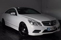 2012 MERCEDES-BENZ E CLASS 2.1 E250 CDI BLUEEFFICIENCY S/S SPORT 2d AUTO 204 BHP £12500.00
