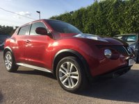 2012 NISSAN JUKE 1.6 ACENTA PREMIUM 5d SAT NAV AND A LOW MILEAGE EXAMPLE £7500.00