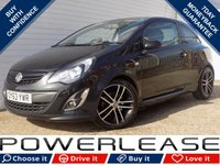 2013 VAUXHALL CORSA 1.4 TURBO BLACK EDITION 3d 118 BHP £5471.00