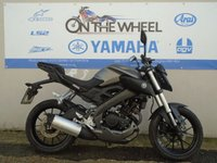USED 2014 64 YAMAHA MT 125 ** IN A NICE STONE GREY** ** HPI CLEAR **