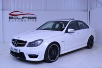 USED 2014 14 MERCEDES-BENZ C CLASS 6.2 C63 AMG 4d AUTO 457 BHP