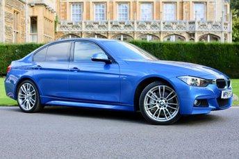 2015 BMW 3 SERIES 3.0 335D M SPORT 4d AUTO 302 BHP £19990.00