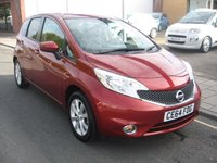 2014 NISSAN NOTE 1.2 ACENTA PREMIUM DIG-S 5d 98 BHP £SOLD