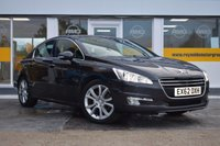 USED 2012 62 PEUGEOT 508 2.0 ALLURE HDI FAP 4d 163 BHP THE CAR FINANCE SPECIALIST