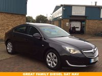USED 2014 14 VAUXHALL INSIGNIA 2.0 TECH LINE CDTI ECOFLEX S/S 5 Door 138 BHP £0 Road Tax A Fully Loaded Insignia With Touch Screen Inc Sat Nav,Bluetooth,Half Leather Seats,Zero Road TAX !!!!!!