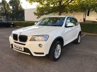 2014 BMW X3 2.0 XDRIVE20D SE 5d AUTO 181 BHP £SOLD