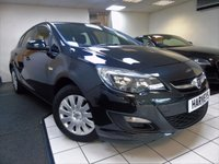 2013 VAUXHALL ASTRA 1.4 EXCLUSIV 5d 98 BHP £5295.00