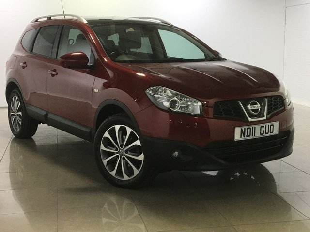 View our 2011 11 NISSAN QASHQAI+2 1.5 TEKNA PLUS 2 DCI 5d 110 BHP