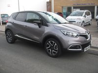 USED 2014 64 RENAULT CAPTUR 1.5 DYNAMIQUE S MEDIANAV ENERGY DCI S/S 5d 90 BHP only 5244 miles, service history, zero road tax, sat nav, parking sensors.