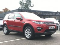 2016 LAND ROVER DISCOVERY SPORT 2.0 TD4 SE TECH 5d 180 BHP £26990.00